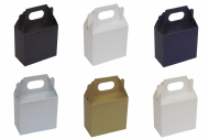 Pearlescent Gable Wedding / Party Favour Boxes, Choose Colour - Choose QTY
